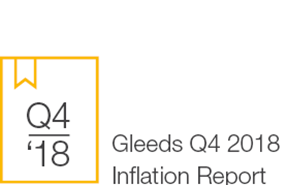 Gleeds Q4 2018 Inflation Report